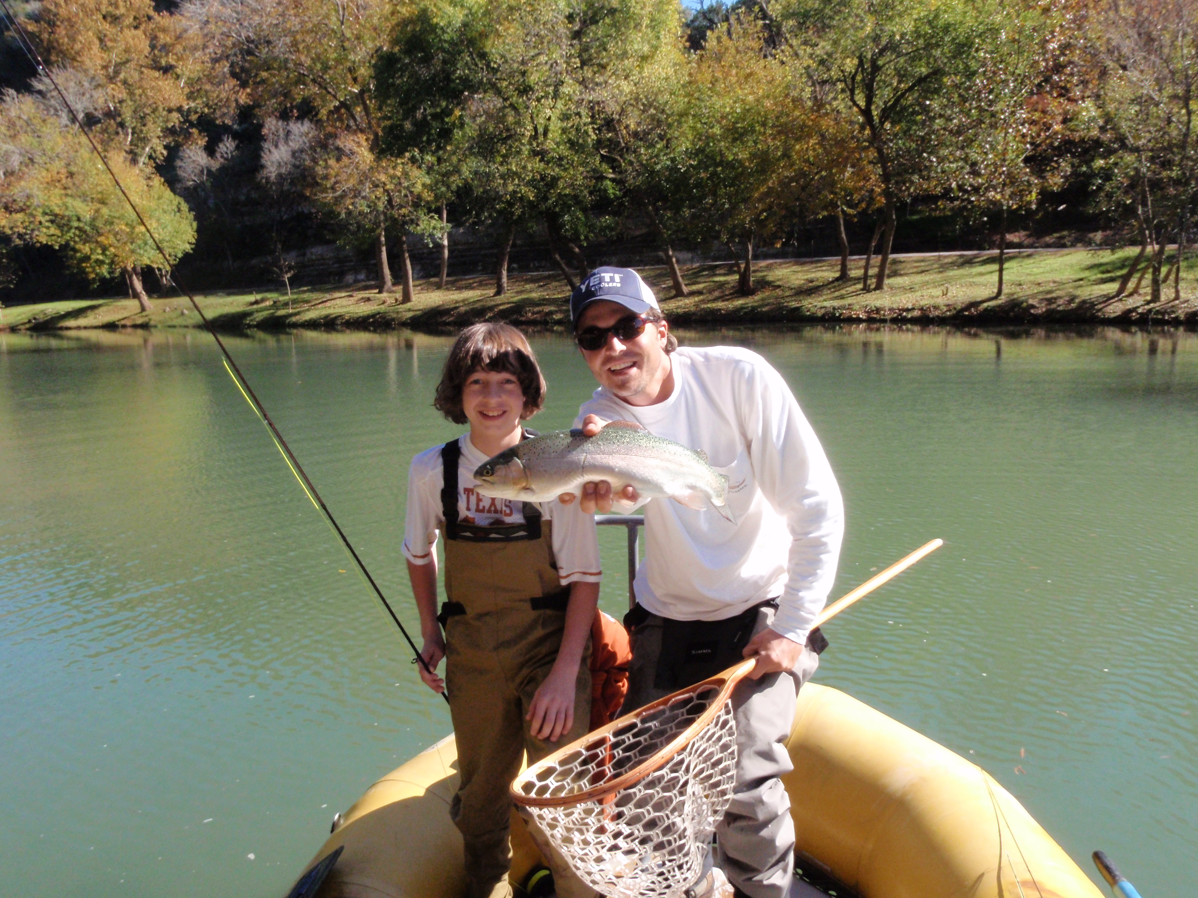 November 2009 for Guadalupe river fly fishing