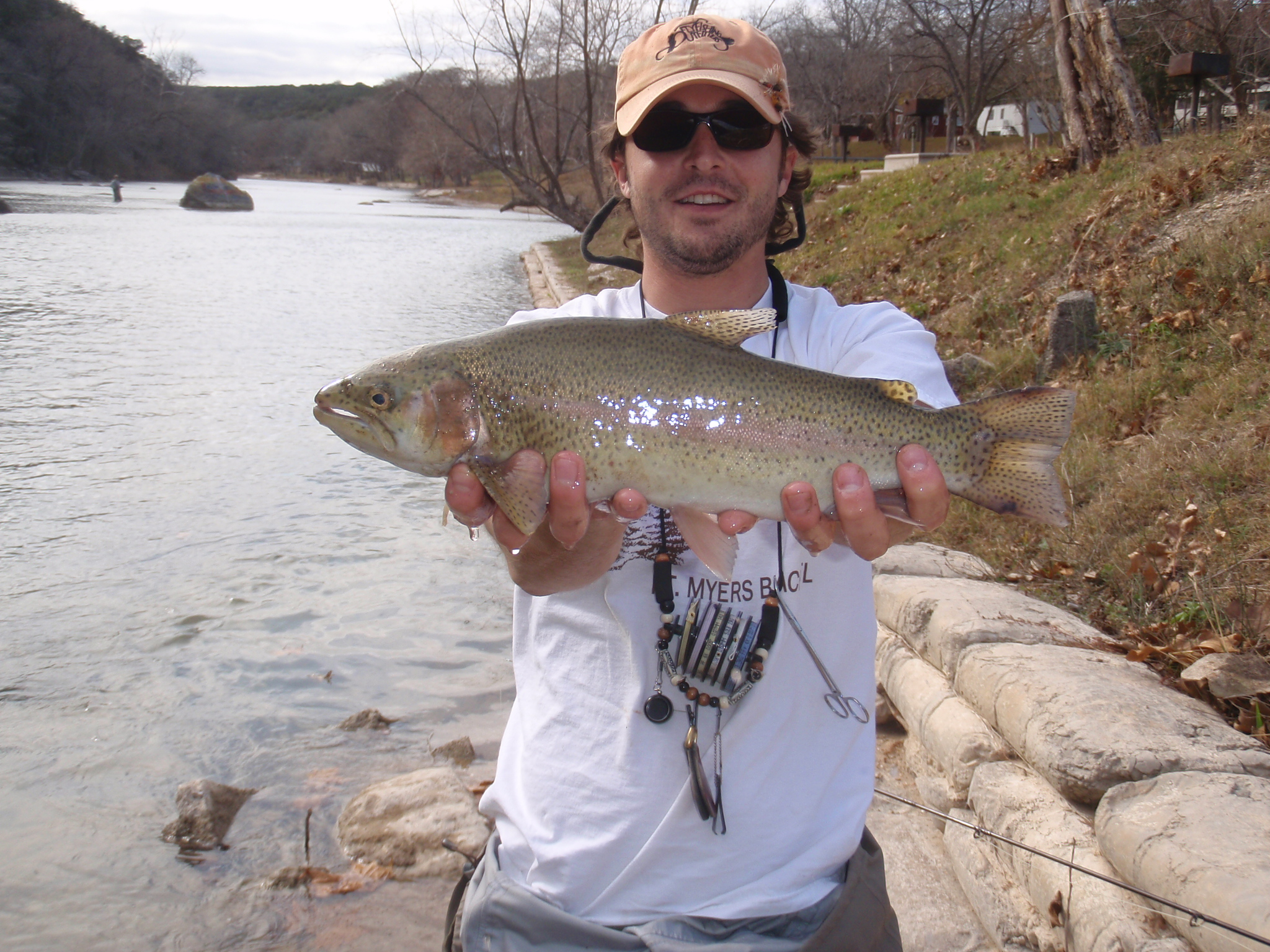Guadalupe trout fishing report for Trouts fishing report