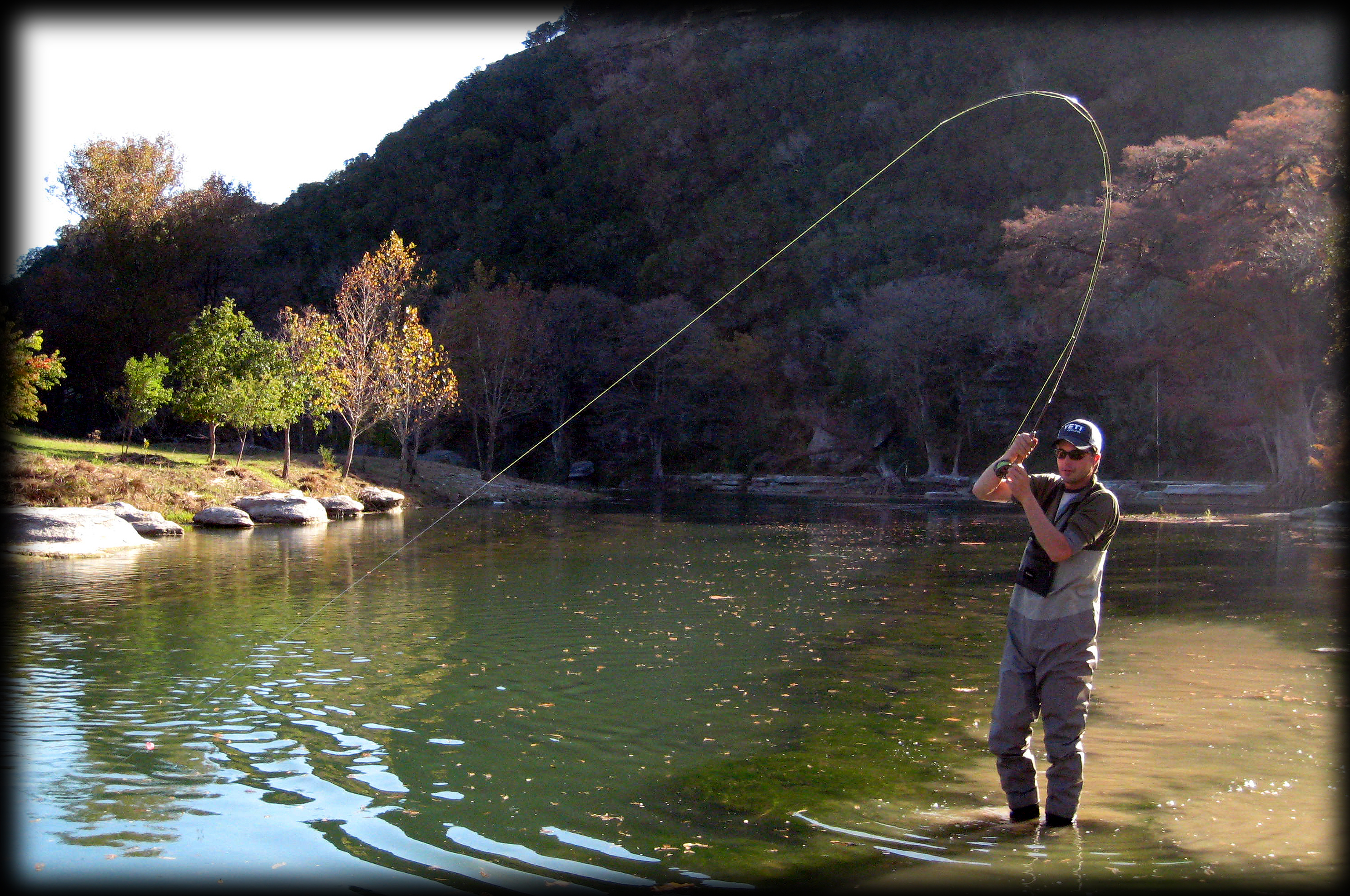 guadalupe river trout fishing report 11 28 09