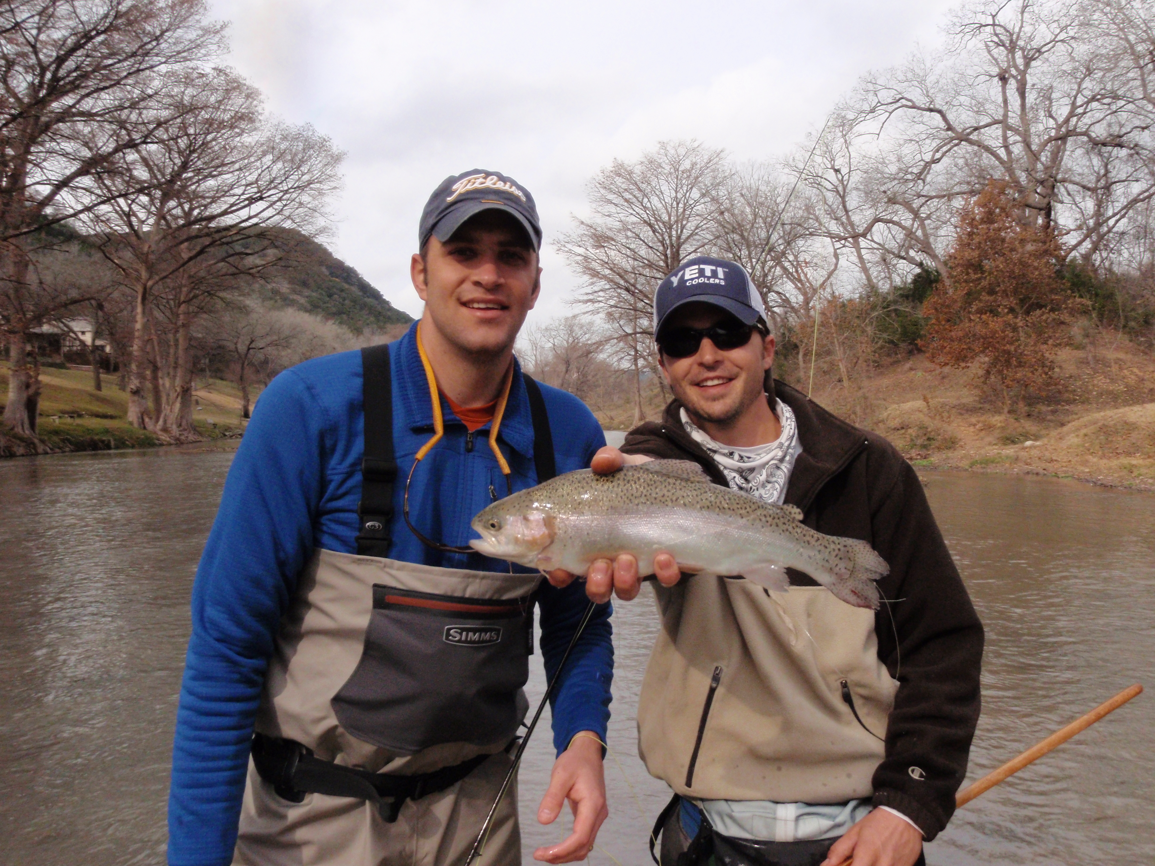 guadalupe river fishing report